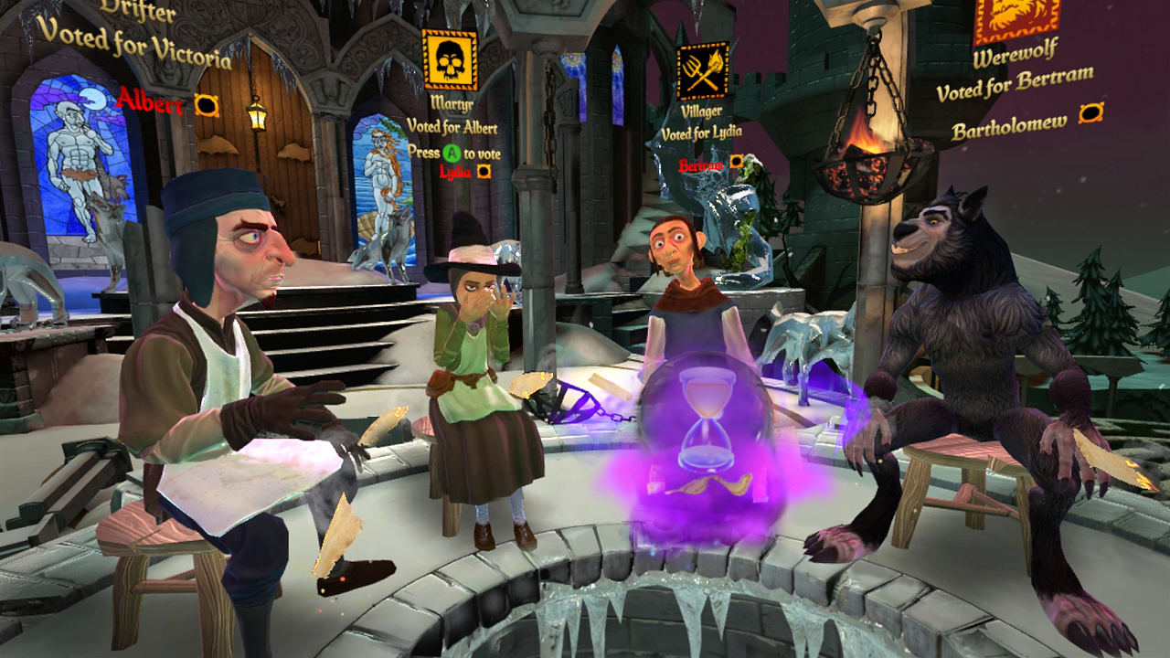 werewolves1 Werewolves Within PS VR Review   Bringing Board Games to VR