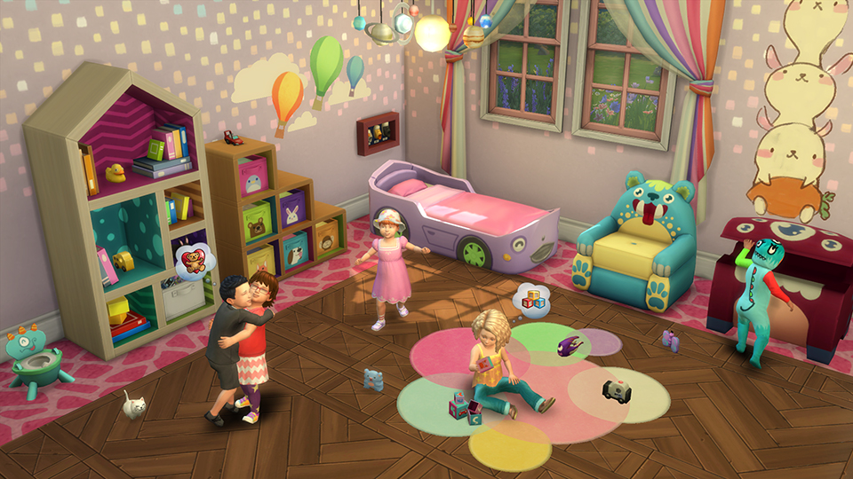 The Sims 4 Toddler Update