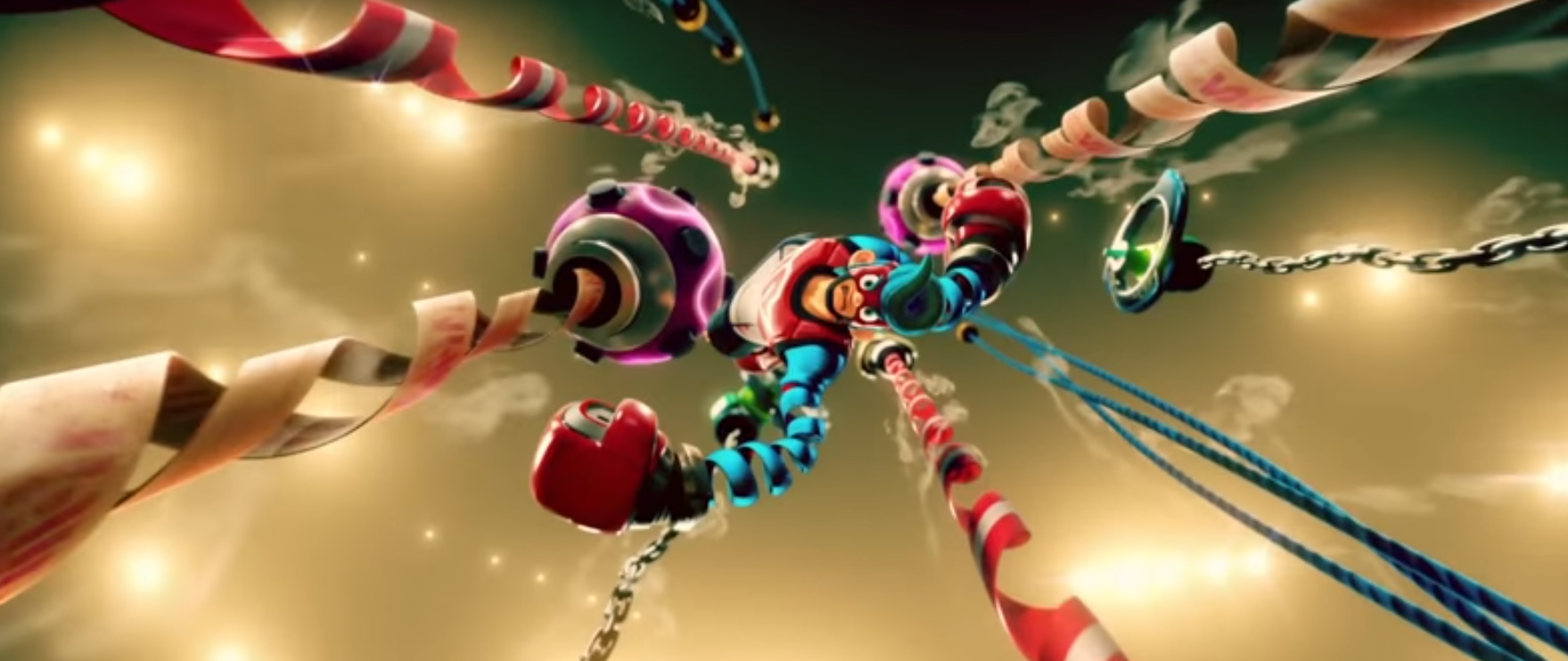 New Nintendo Game Arms Coming To The Switch Rocket Chainsaw