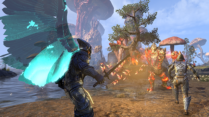 Elder Scrolls Online Morrowind Gameplay Trailer