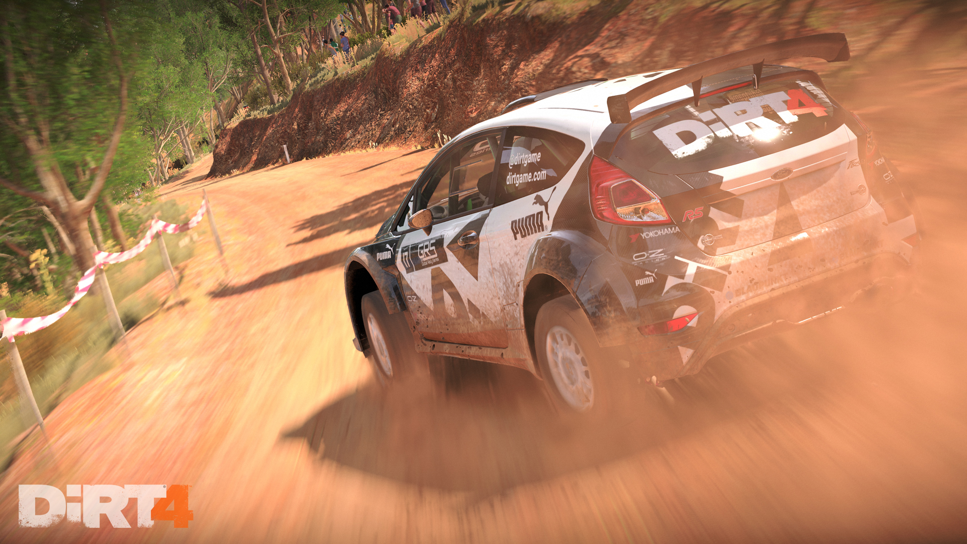 Fiesta Aus 6 DiRT 4 Preview
