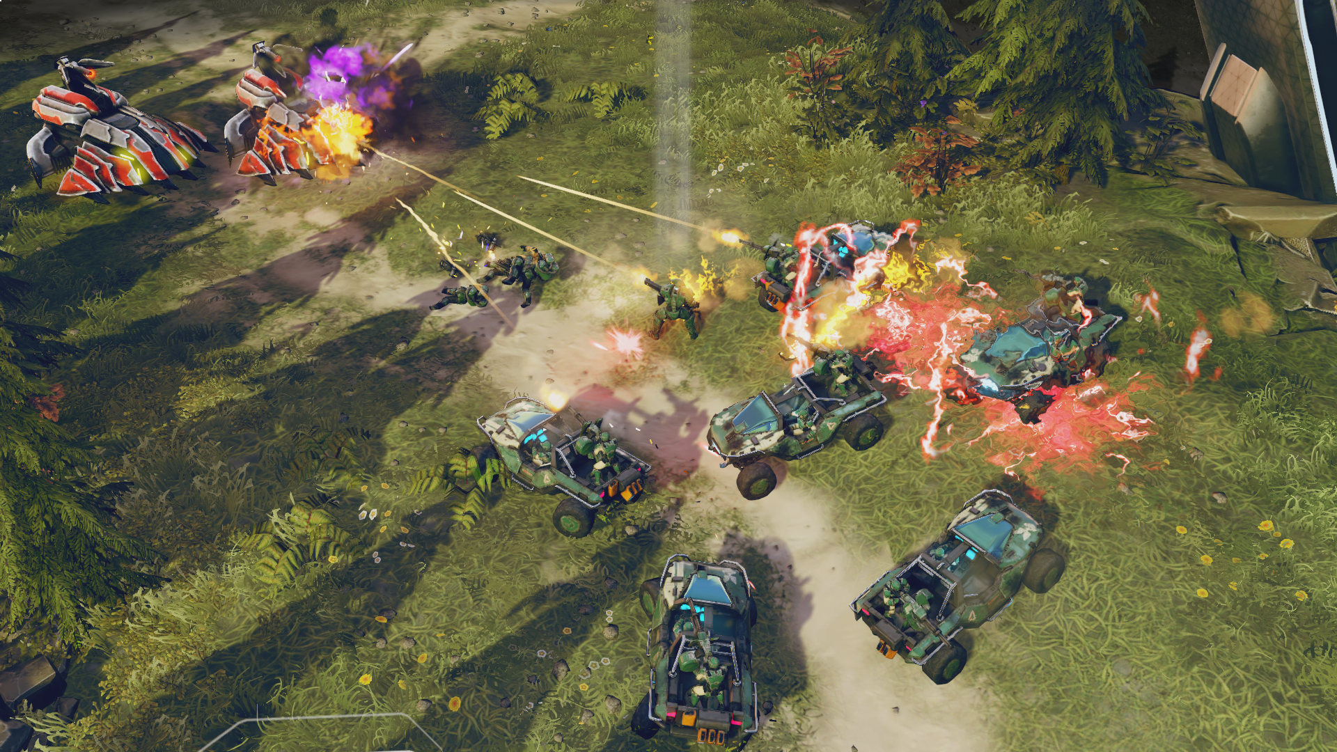 Halo Wars 2 Campaign One Three Zero Under Siege Halo Wars 2 Xbox One Review