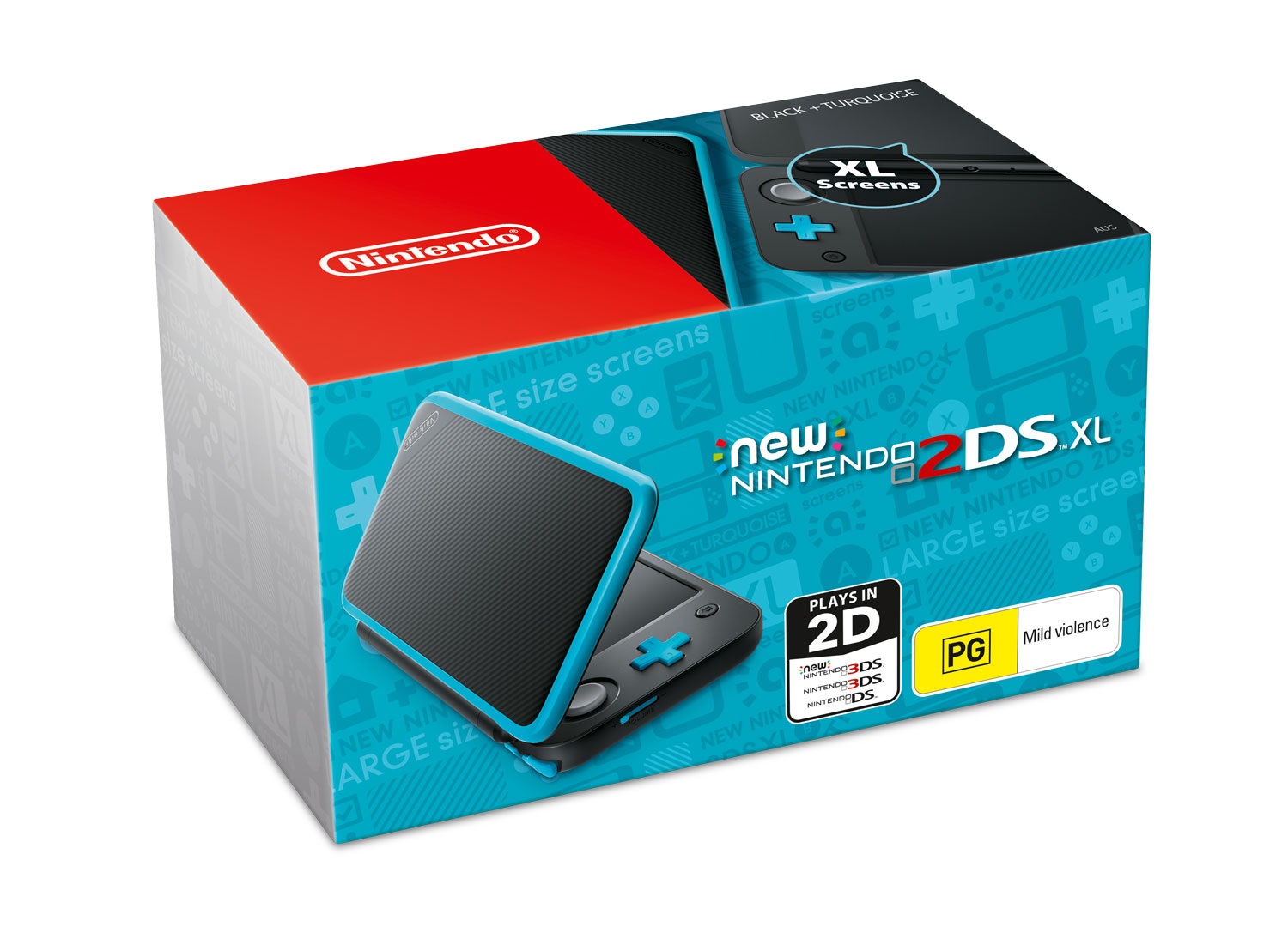 nintendo announce the new 2ds xl console and new 3ds. Black Bedroom Furniture Sets. Home Design Ideas