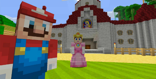Minecraft Nintendo Switch Edition Review Rocket Chainsaw