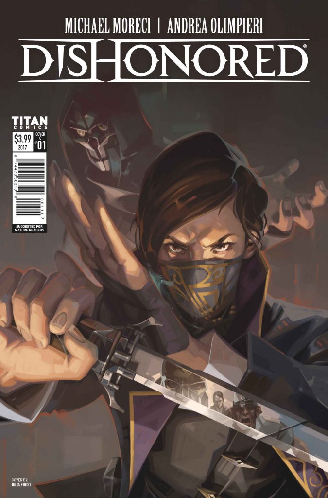 new Bethesda comics Dishonored