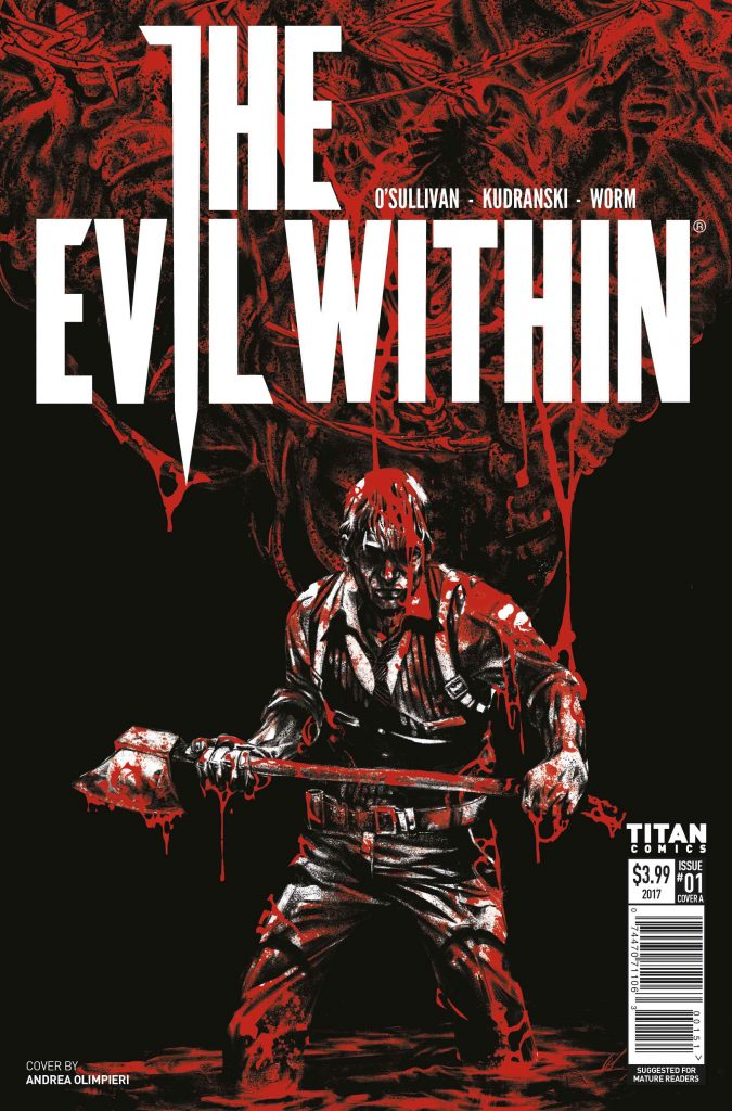 new Bethesda comics The Evil Within