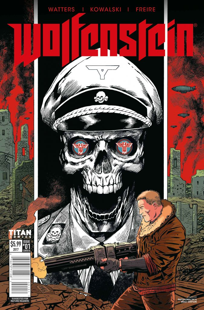 new Bethesda comics Wolfenstein