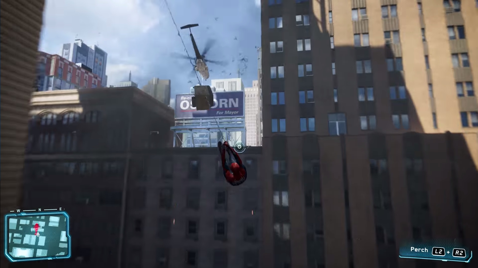 E3 2017 Spider Man Swings Into Action In Debut Gameplay