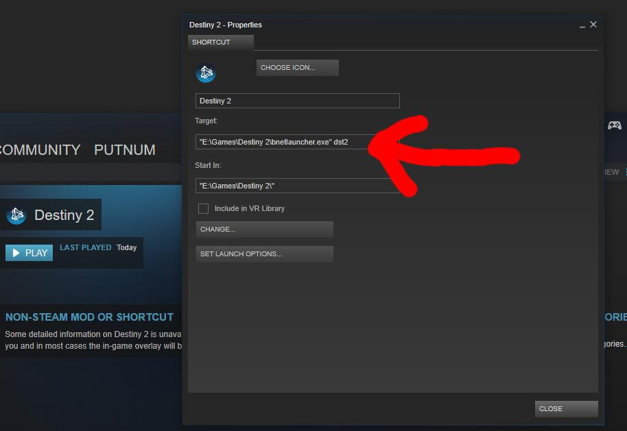 Destiny 2 Through Steam
