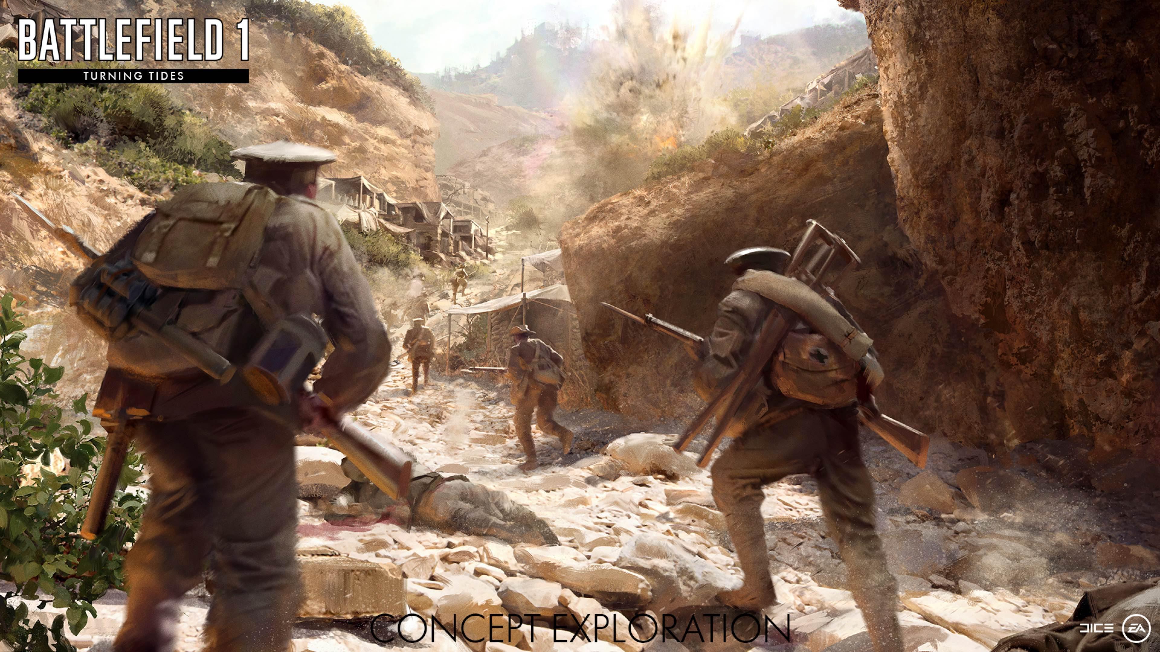Battlefield 1 Galipoli