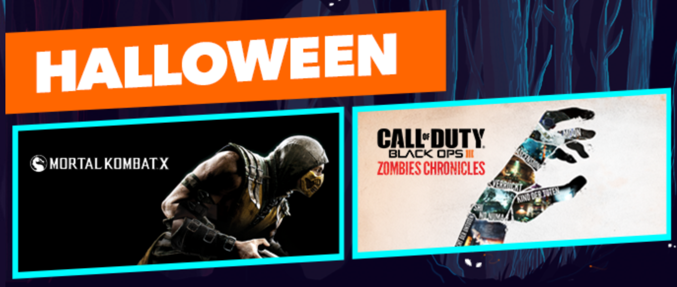 PlayStation Store Halloween Sale
