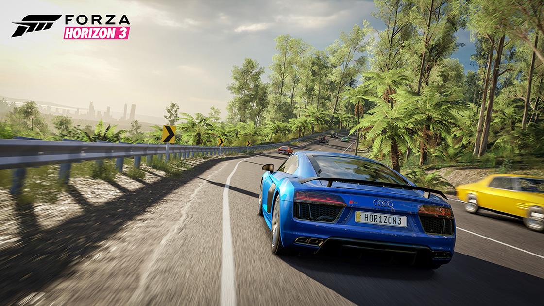 4K Forza Horizon 3