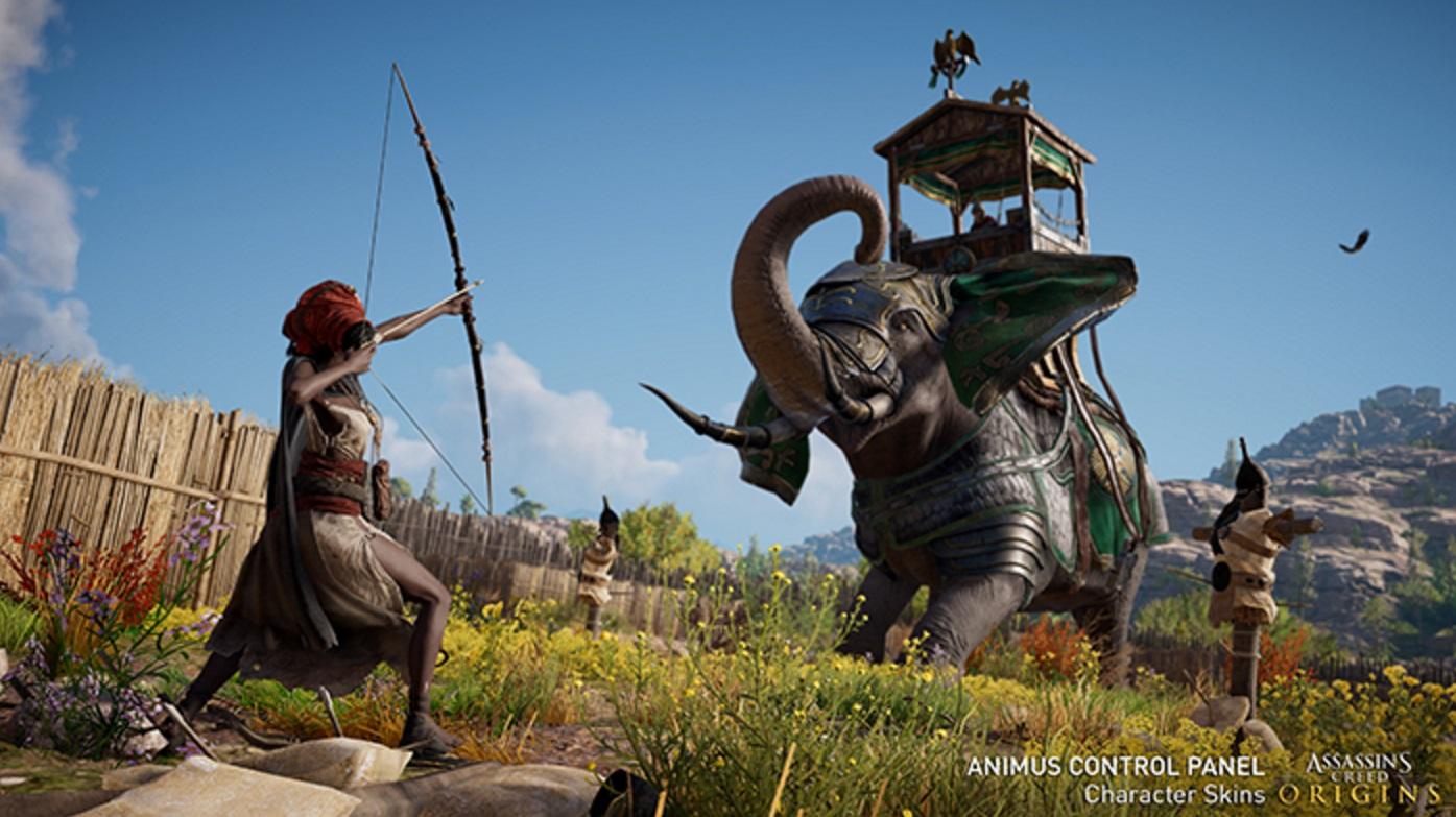Assassin's Creed Origins Animus Control Panel
