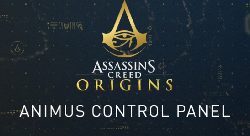 Assassin's Creed Origins Animus Control Panel Coming to ...