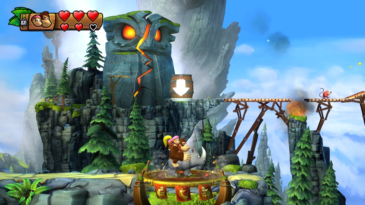 Donkey Kong Country: Tropical Freeze Switch Review - Rocket Chainsaw
