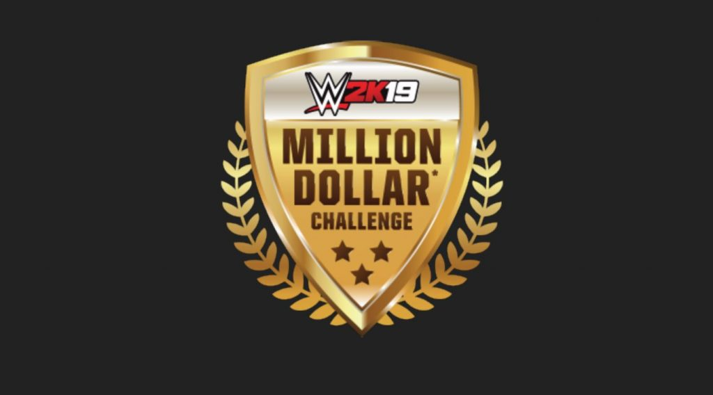 WWE 2K19 Cover Superstar Million Dollar Challenge