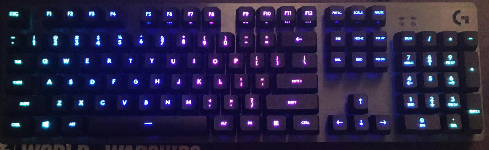 Logitech G512 Carbon Mechanical Keyboard Review - Rocket
