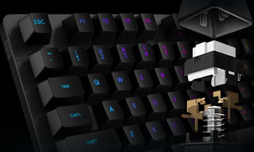 Logitech G512 Carbon Mechanical Keyboard Review Rocket Chainsaw