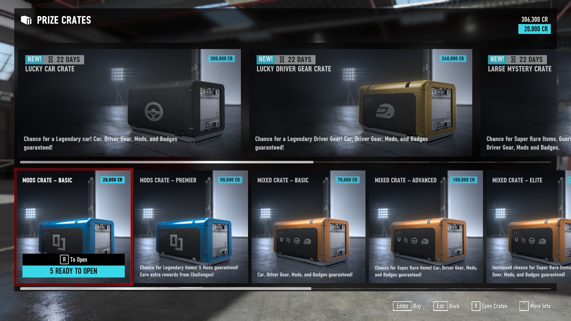 Forza loot crates