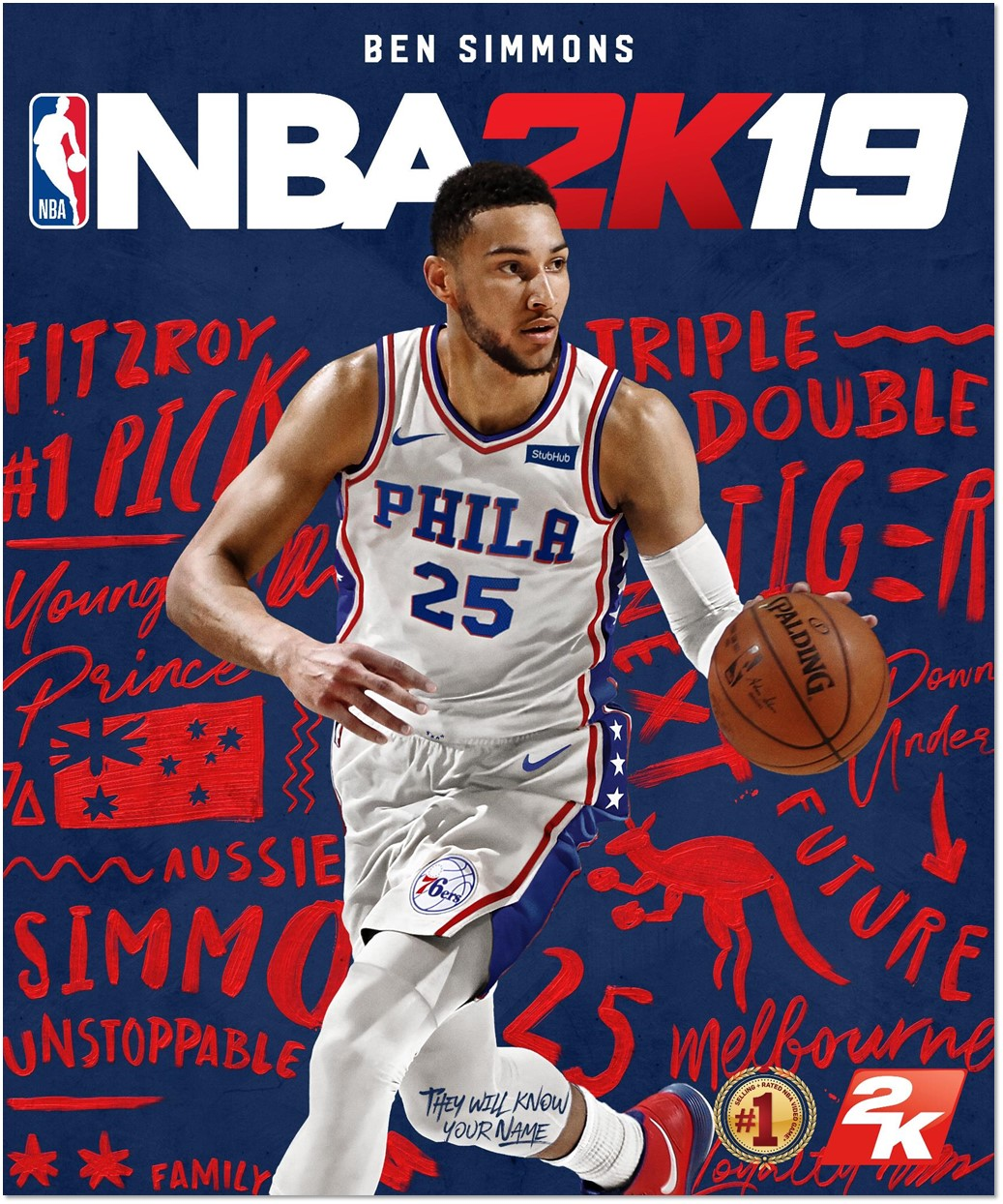 NBA 2K19 Australian Cover Star