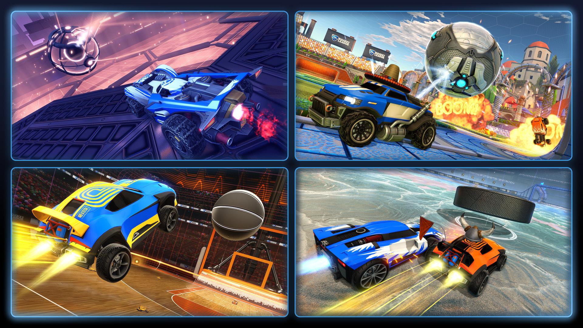 Rocket League Season 9 Shots
