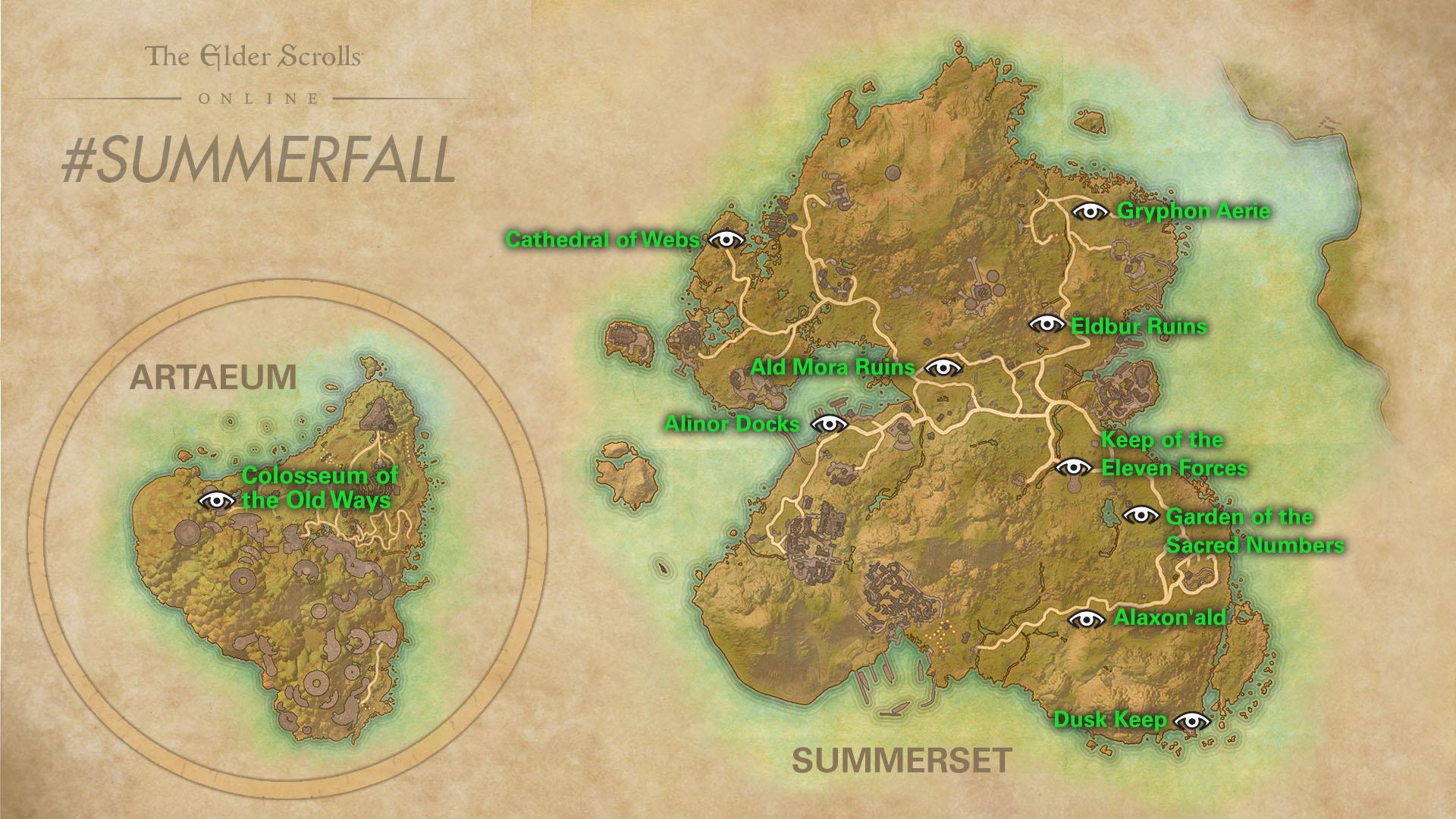 Summerfall Event Map