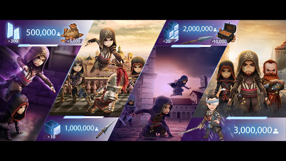 Assassin's Creed Rebellion pre-registration