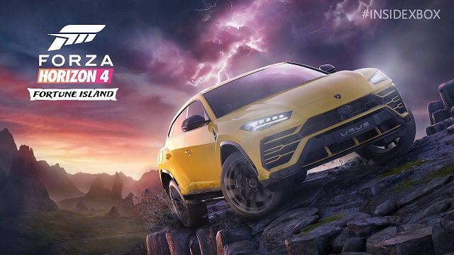 Forza Horizon 4 Fortune Island Expansion