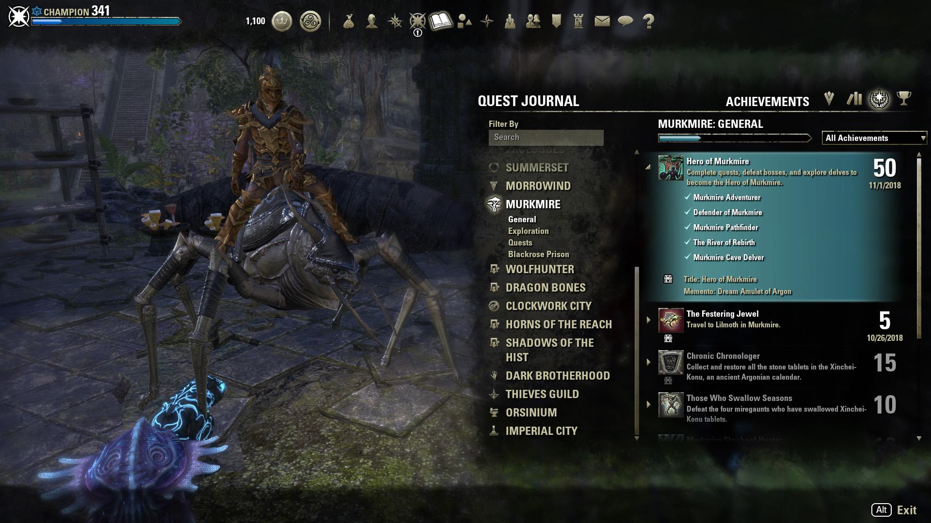 The Elder Scrolls Online Murkmire DLC 0
