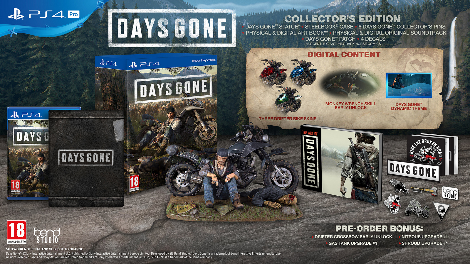 Days Gone World Series Collectors Edition