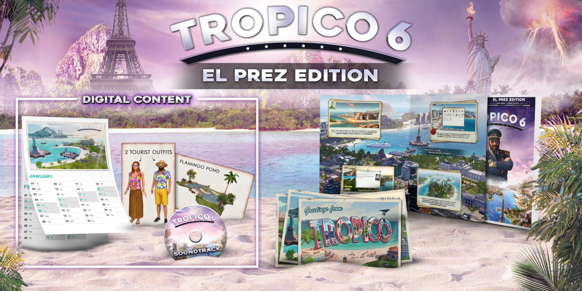Tropico 6 Release El Prez
