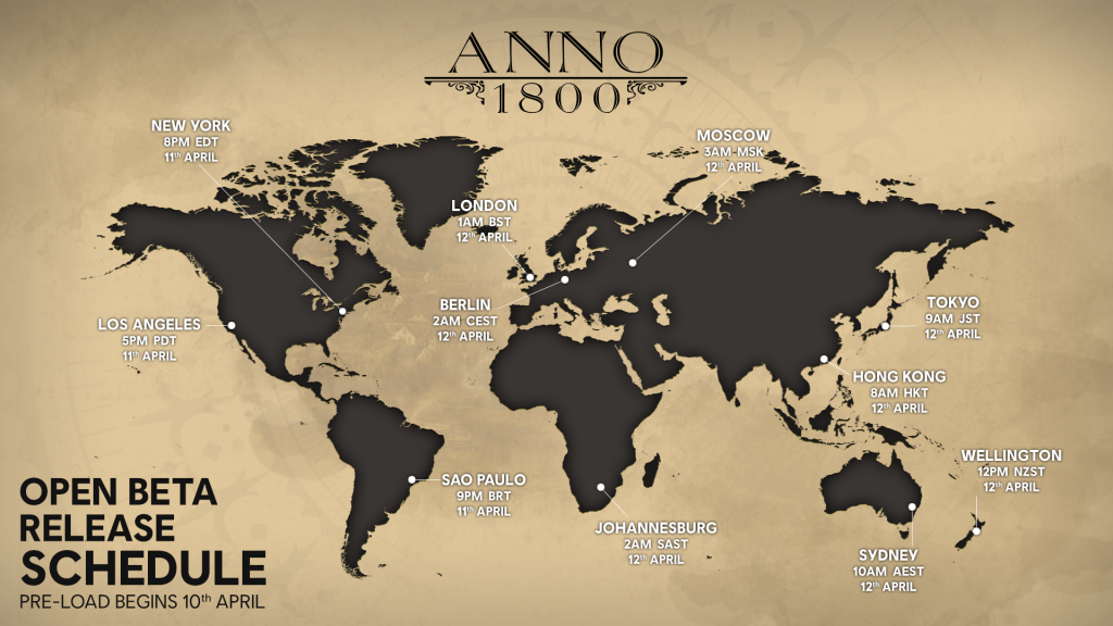 Anno 1800 Open Beta