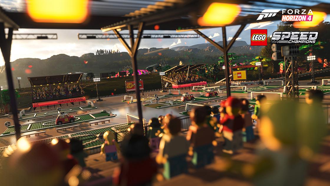 Forza Horizon 4 Lego Speed Champions Logo