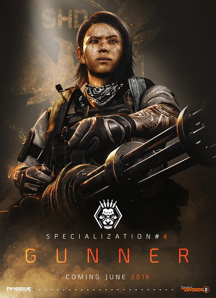 The Division 2 Gunner
