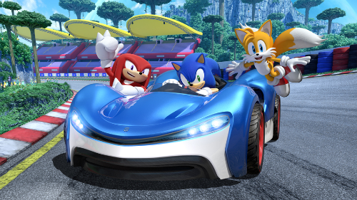 Team Sonic Racing Xbox One X Review Rocket Chainsaw
