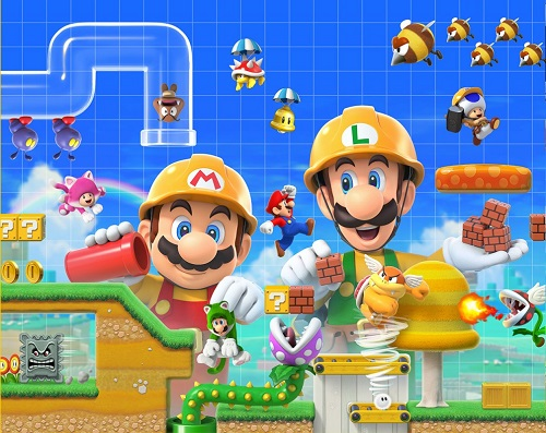 You Can Now Upload 64 Courses In Super Mario Maker 2 Rocket Chainsaw