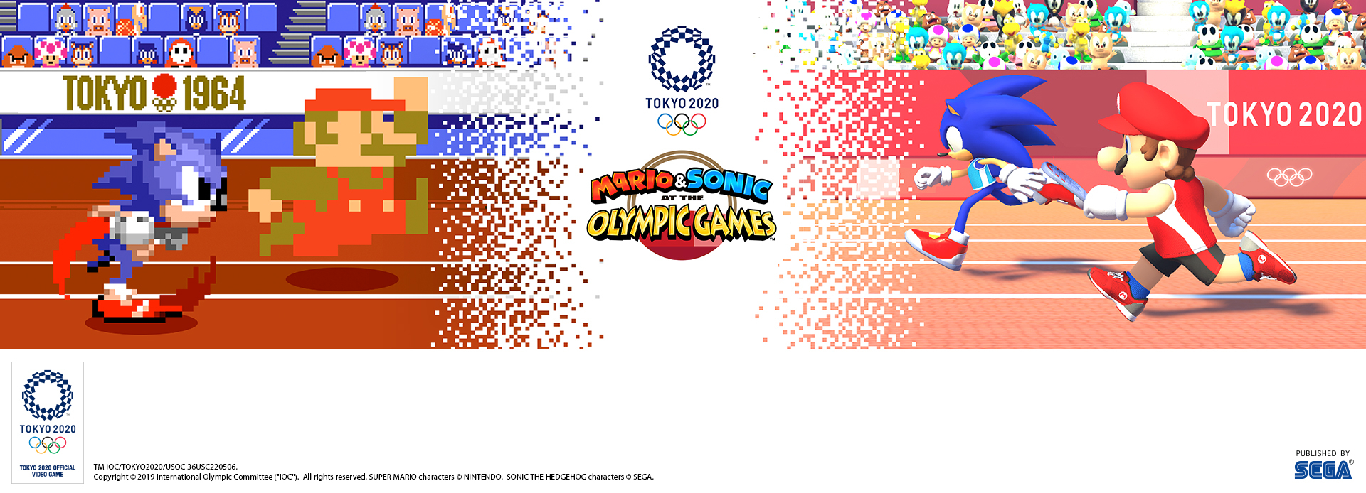 Mario & Sonic at the Olympic Games Tokyo 2020 2D Events