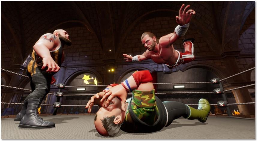 WWE 2K Battlegrounds Hands-on