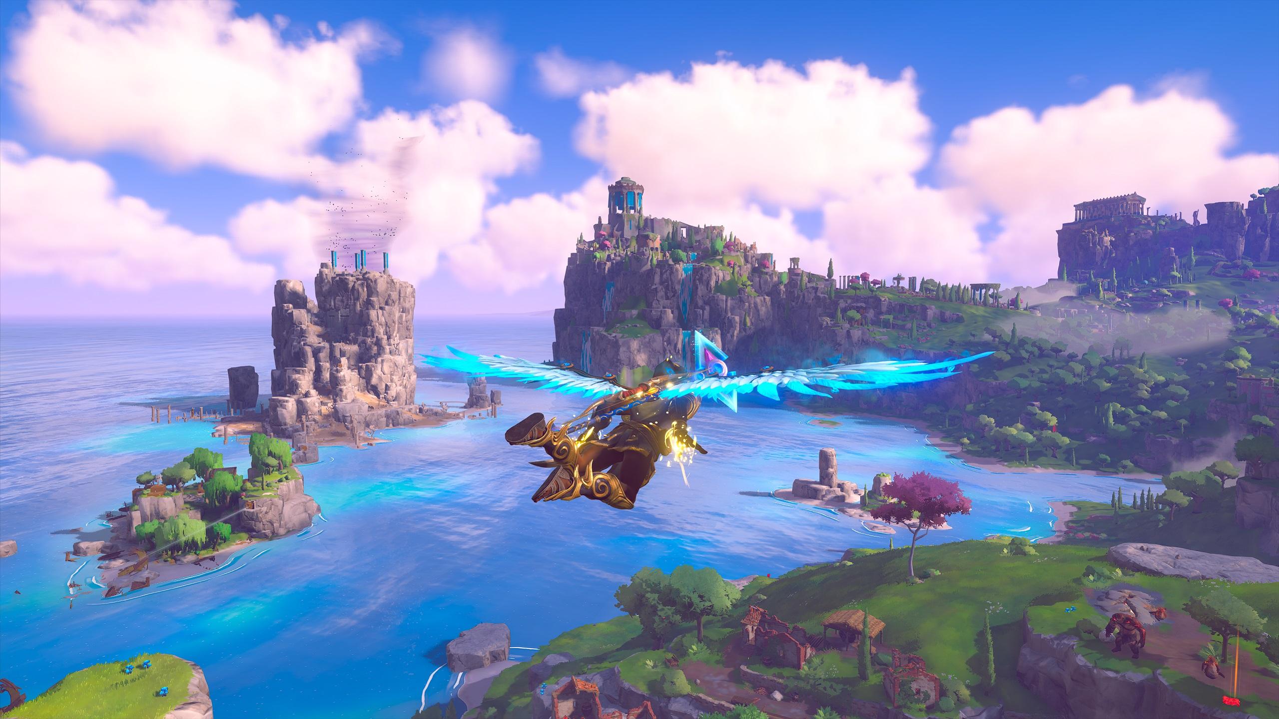 Immortals Fenyx Rising Gliding