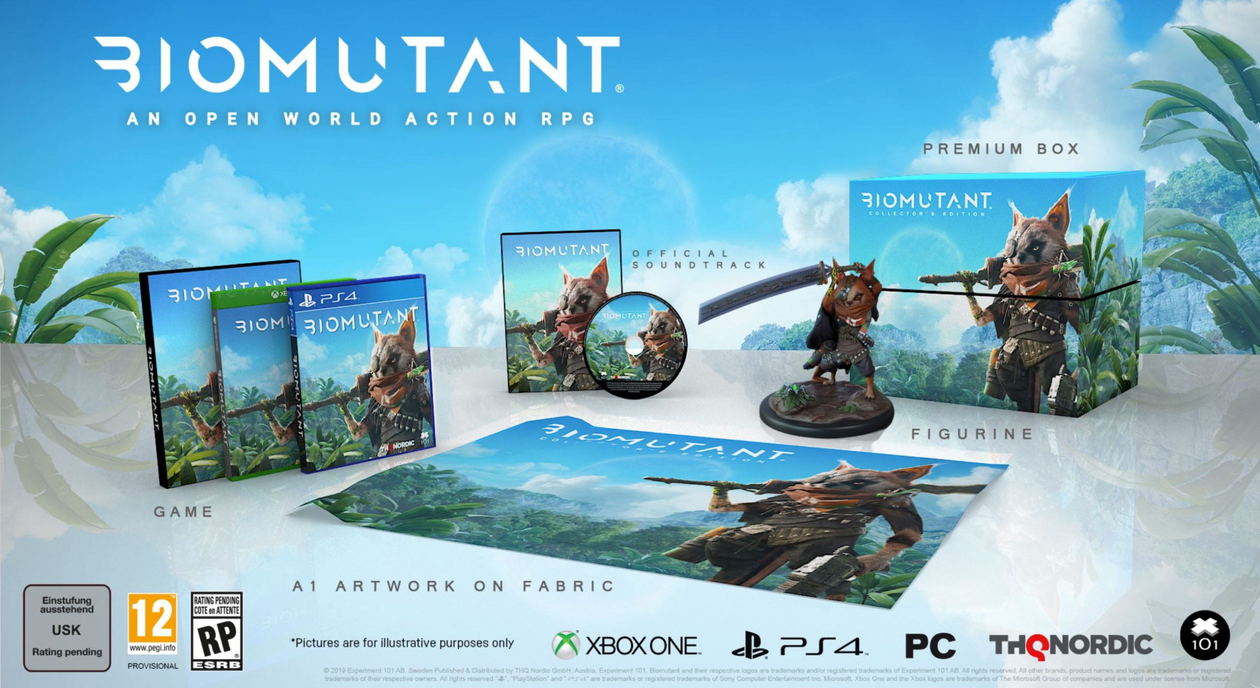 Biomutant Release Date Collectors Edition