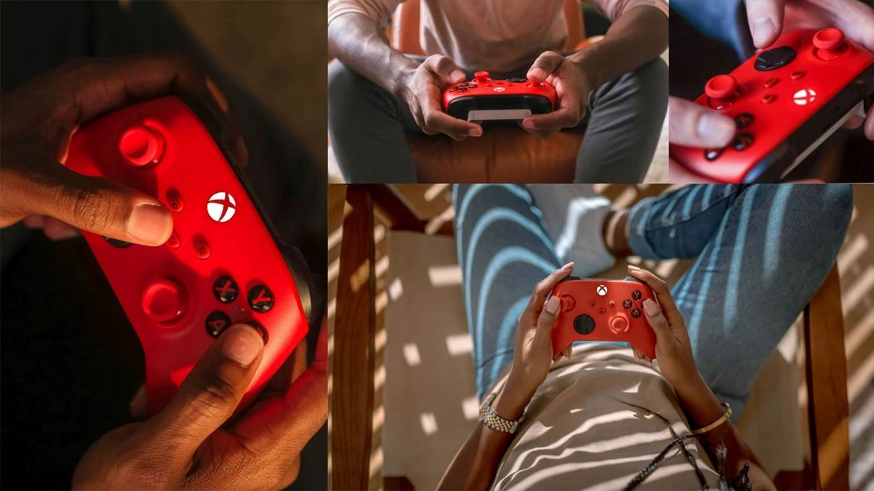 Pulse Red Xbox Wireless Controller