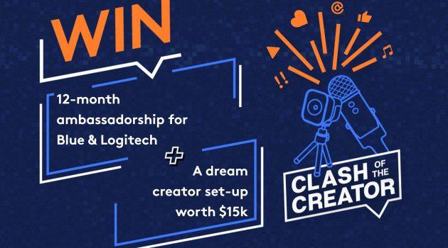 Logitech & Blue Competition