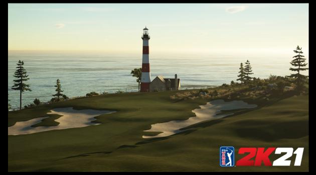 PGA TOUR 2K21 content