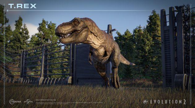 Jurassic World Evolution 2 T-Rex